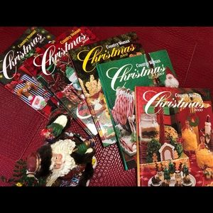 Other - Country Woman Christmas Cookbooks